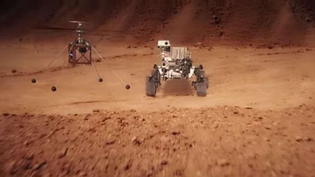 Misi Pencarian Bukti Kehidupan di Mars