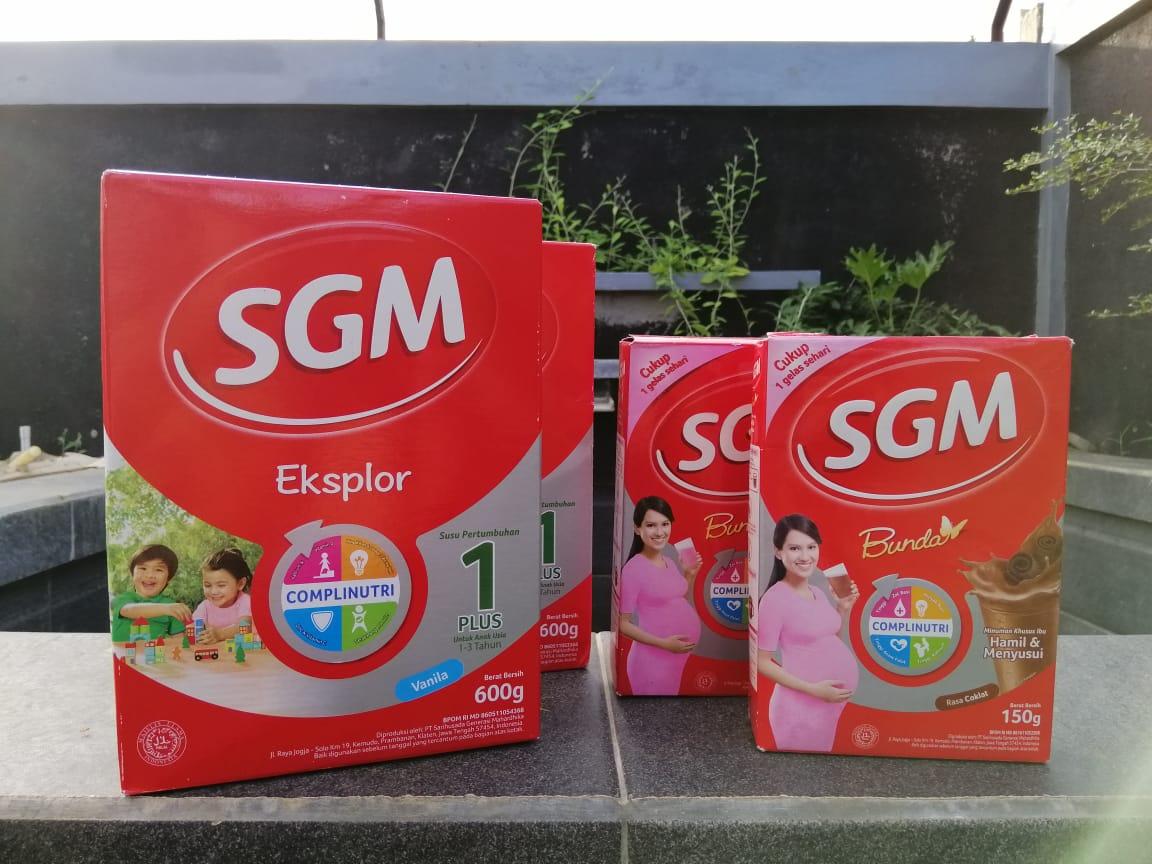 3 Jenis Kategori Susu SGM untuk Anak dan Bunda